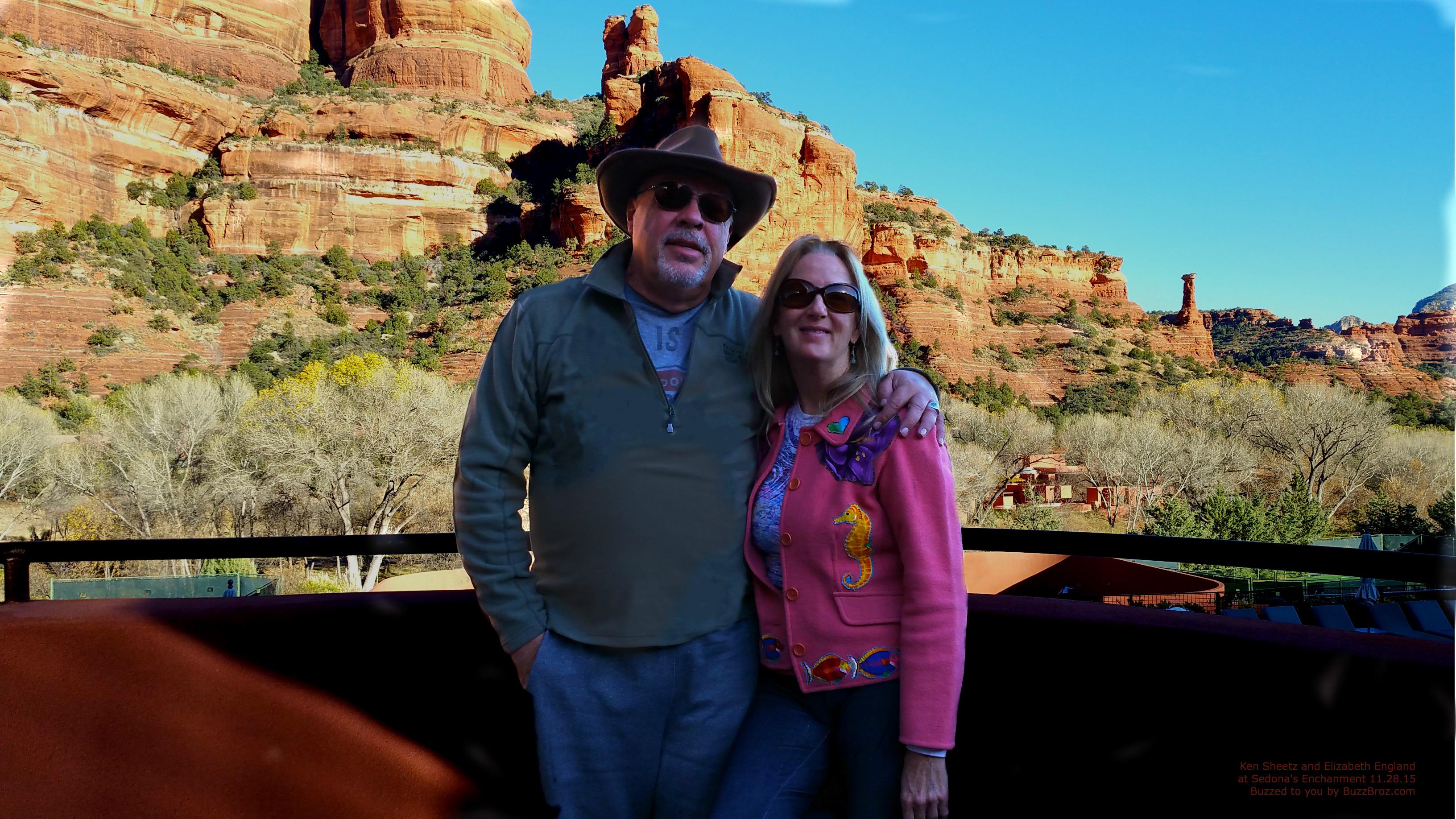 Ken and Elizabeth at Enchantment