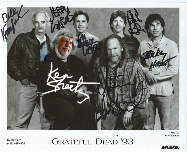 Ken Sheetz on the 93 Grateful Dead Tour