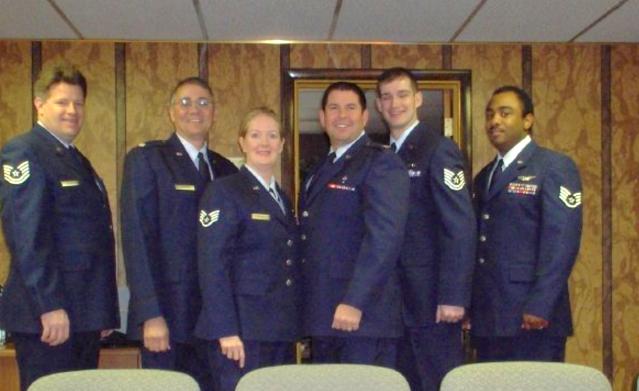 Elizabeth in the Air Force