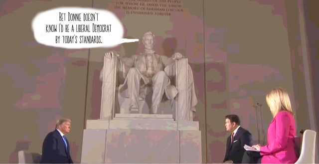 Lincoln Speaks Out